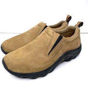 MERRELL Women Jungle Moc Nubuck Stone Casual Shoes